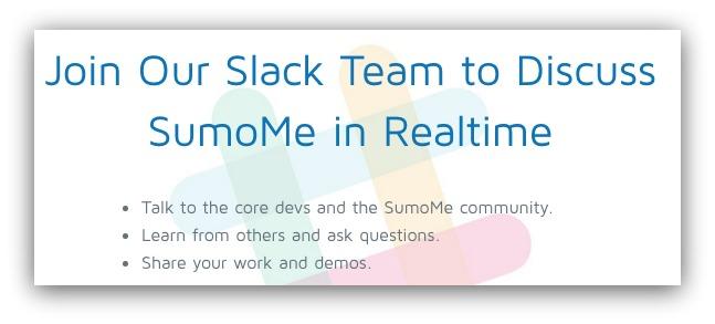 sumome slack team