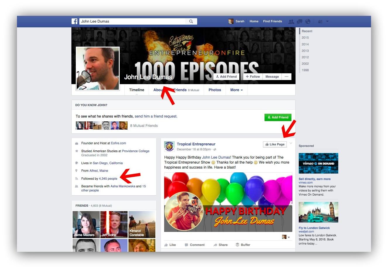 free facebook marketing