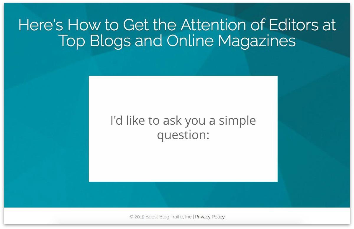 boost blog traffic cta