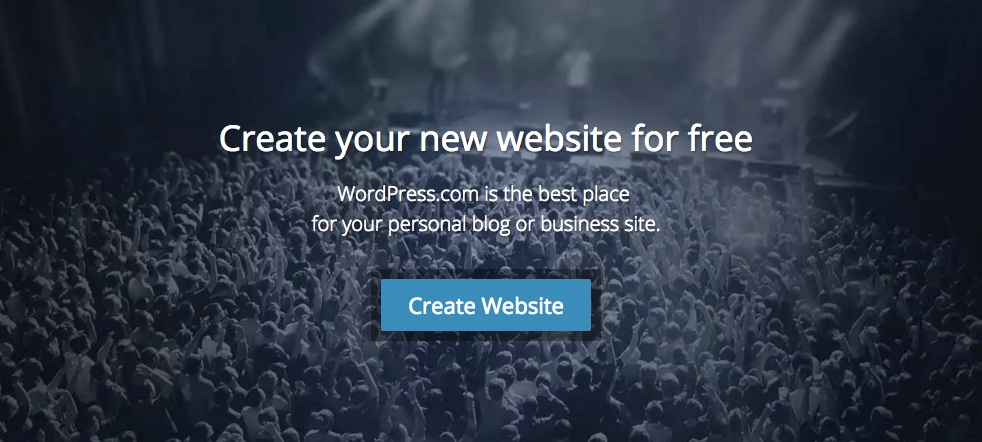 WordPress value proposition example