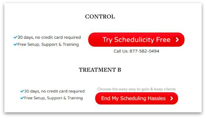 schedulicity first person cta