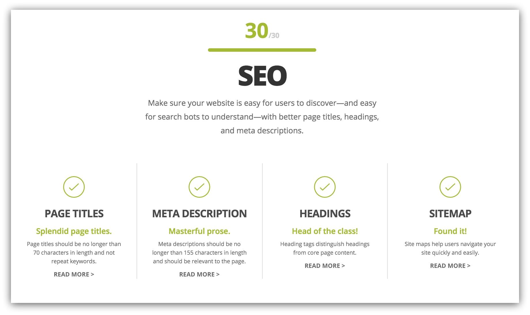 website seo help