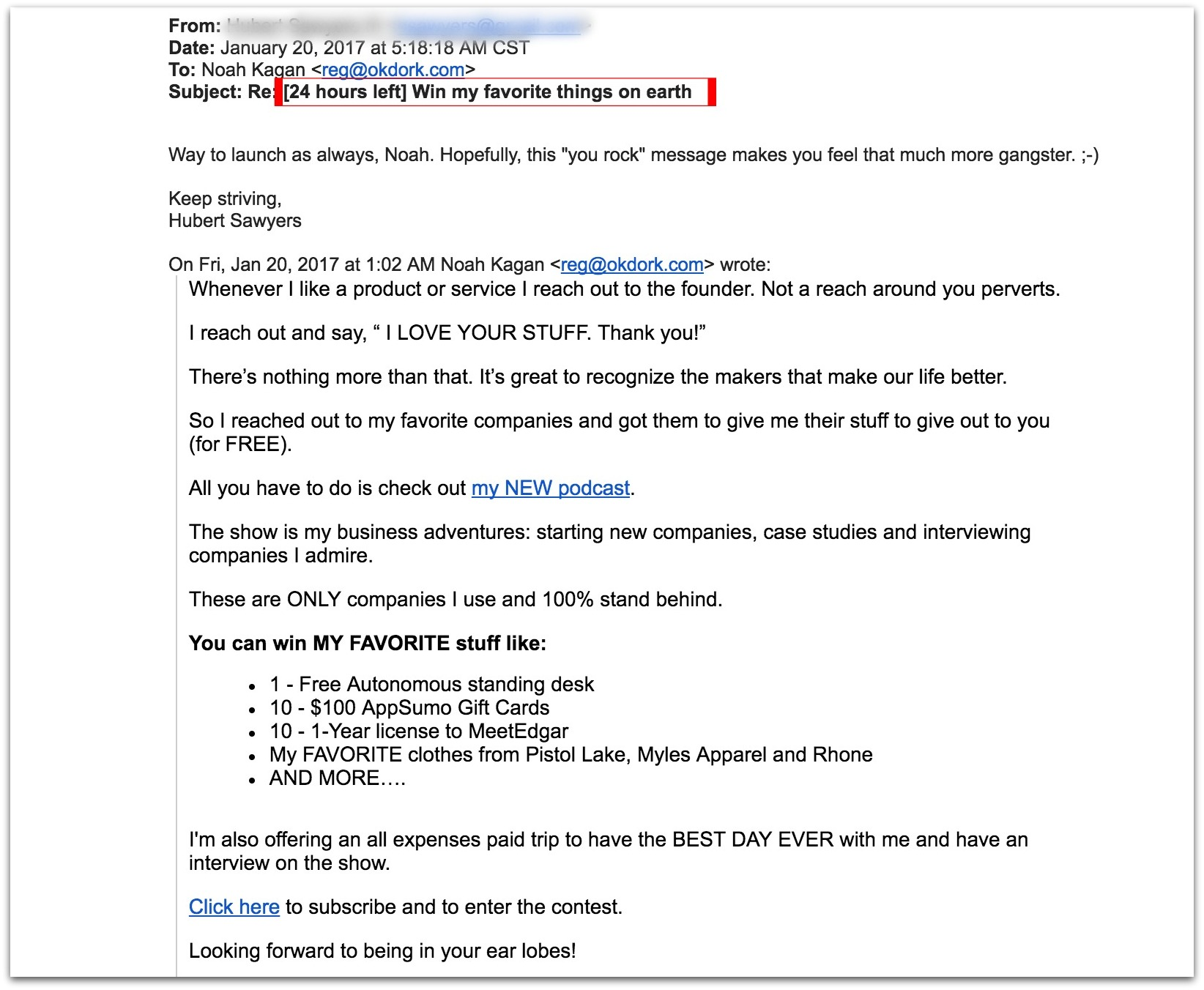 email example