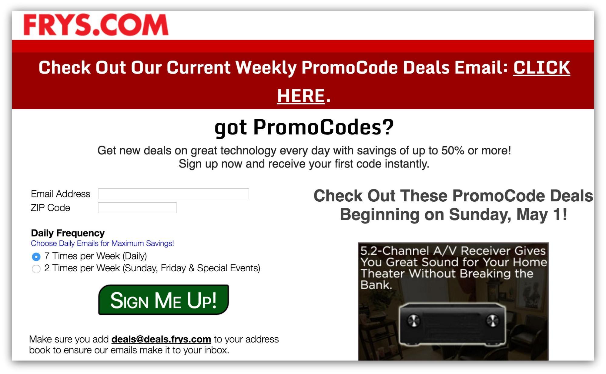 subscriber-only-deals-newsletter-list-building