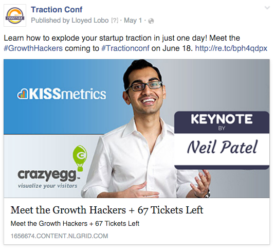learn how to explode your startup traction in just one day traction conf