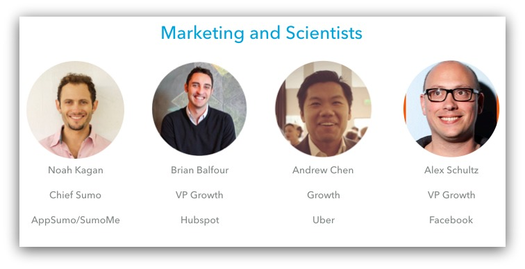 marketing and scientists