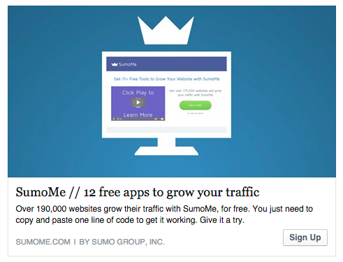 sumo 12 free apps to grow your website traffic