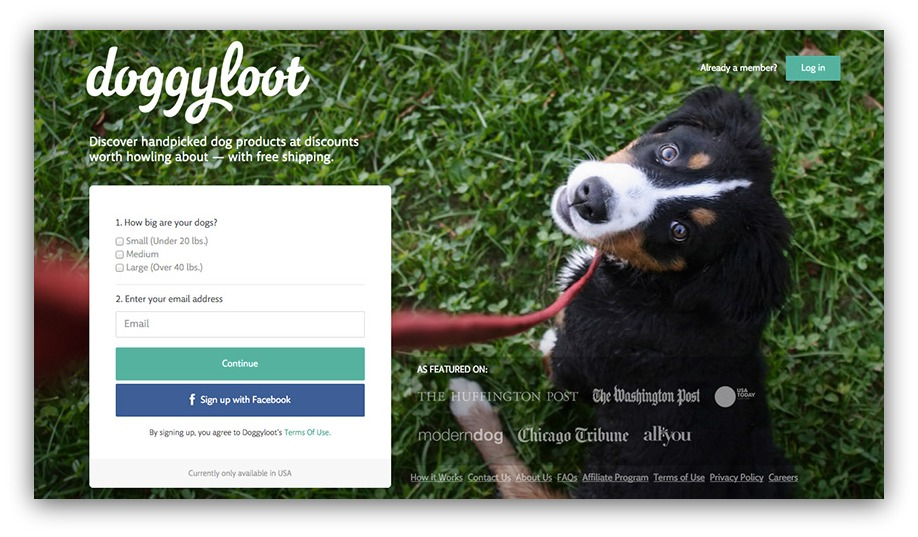 targeting products doggyloot