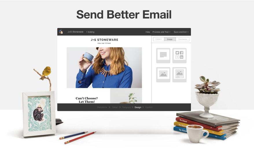 MailChimp value proposition example