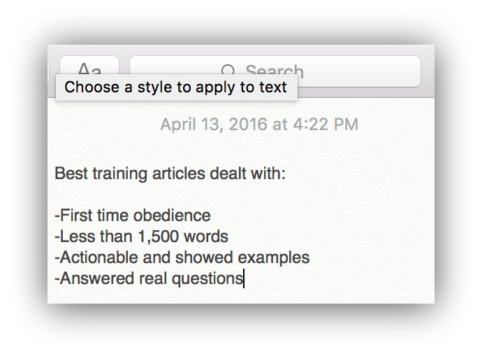 notes on dog blogs