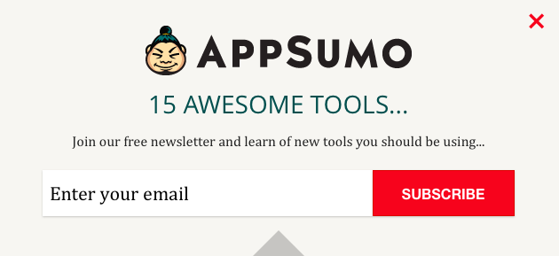AppSumo list builder power words