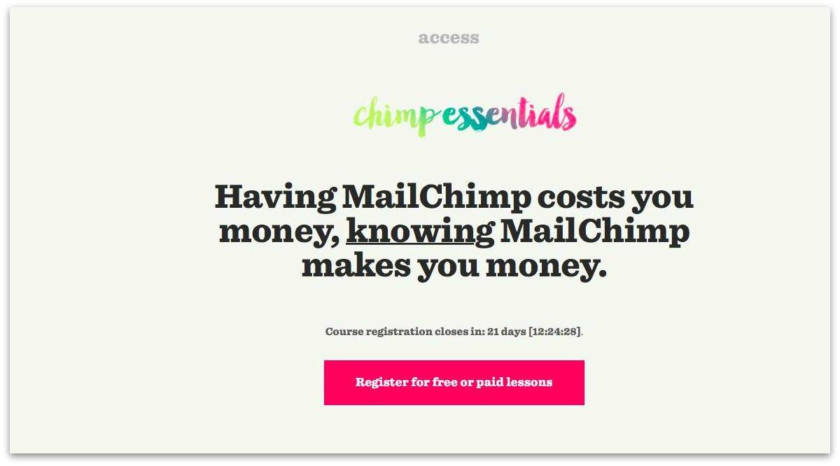 chimp essentials hook