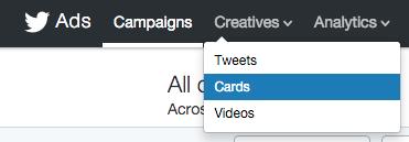 twitter cards tweets