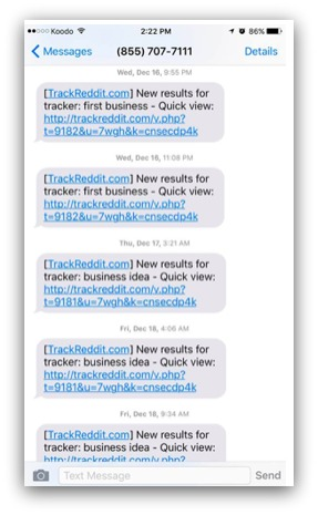 trackreddit example